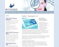 Bild Webseite RyDoc Hamburg