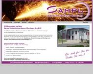 Bild Webseite Sampl Industrieanlagen Montage Oedheim