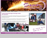 Website Sampl Industrieanlagen Montage