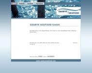 Bild Webseite Saabye Seafood Hamburg