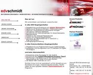 Website Schmidt EDV-Dienstleistung