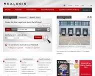 Bild Webseite Realogis Immobilien Düsseldorf Düsseldorf