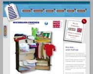 Bild Webseite WICHMANN & FRIENDS Hamburg