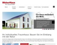 Website WeberHaus