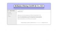 Bild Wilhelm Ohning GmbH & Co. KG