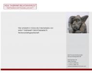 Bild Webseite Wolf Thorwart Rechtsanwälte Rechtsanwaltsgesellschaft Nürnberg