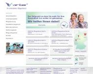 Bild Webseite VERITAS Pflegedienst Berlin Ost Berlin