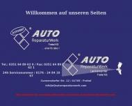 Bild Webseite Autoreparaturwerk Freital Freital