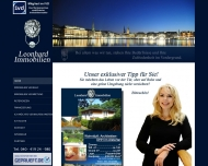 Bild Webseite Leonhard Immobilien Hamburg