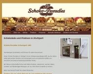 Bild Webseite Schoko-Paradies Schweigert Stuttgart