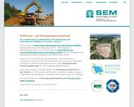 Bild Webseite SEM Vertriebs Feilitzsch