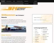 Bild Webseite Schwarz Malente