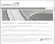 Partner Kapital AG - Mittelstandsfinanzierung, Wachstumsfinanzierung, Mezzanine, Eigenkapital, Nachf...