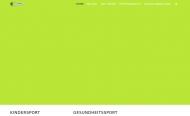 Bild Webseite Sport und Freizeit in Wilmersdorf Berlin