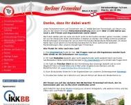 Bild Webseite Sportclub Tegeler Forst Berlin