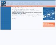 Bild Webseite Sportverein TuR Dresden Dresden