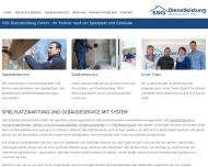 Website SSG Dienstleistung