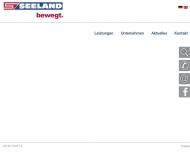 Bild Webseite Timmann Spedition Hamburg