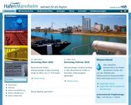 Bild Staatliche Rhein-Neckar-Hafengesellschaft Mannheim mbH