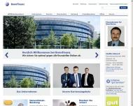 Bild Webseite Steffen Wünsch Bonnfinanz Finanzdienstleistungen Dresden
