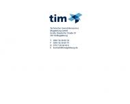 Bild Webseite TIM Technischer Immobilienservice Magdeburg Magdeburg