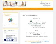 Bild Webseite von Ginsheim Karlsruhe