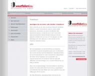 Website Westfalenbau Grundbesitz