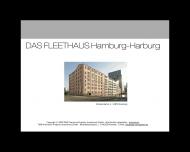 Bild Webseite WIG Wohnraum Immobilien Hamburg