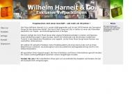 Bild Webseite Wilhelm Harneit Hamburg