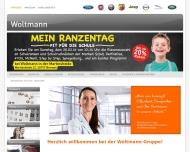 Bild Webseite Woltmann Holding Verwaltungs Bremen