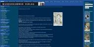 Bild Webseite Wunderkammer-Verlag Frankfurt