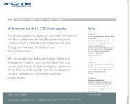 Bild Webseite X-CITE Werbeagentur Köln