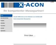 Bild Webseite X-ACON Nürnberg
