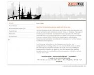 Bild Webseite Zarutec Sicherheitssysteme Hamburg