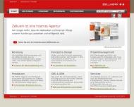 Bild Webseite Zellwerk Düsseldorf