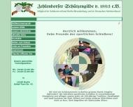 Bild Webseite Zehlendorfer Schützengilde von 1893 Berlin