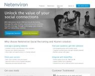 Bild Webseite NetEnviron München