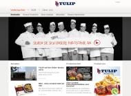 Bild Webseite Tulip Food Service Kiel