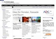 Bild Webseite Antik- und Decorglas ADG Oberhausen