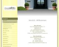 Bild Webseite Anita Schönfeldt Agentur für Immobilien und Finanzierungen Bremen