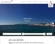 Bild Webseite ANTEON Immobilien Düsseldorf