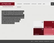 Bild Webseite Anovio München