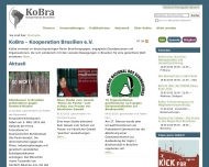 Bild Webseite KoBra-Kooperation Brasilien Freiburg im Breisgau