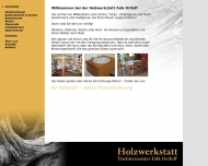 Bild Falk Ortloff Tischlerei Holzwerkstatt Ortloff