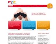 Bild Webseite MCE Service München