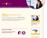 Bild Webseite AVAYATO Hamburg