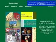 Bild Webseite Kunstfabrik Köpenick Berlin