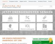 Bild Webseite Ampere Berlin