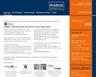 Bild Webseite IFARUS plus Berlin