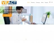 Bild Webseite Veact München